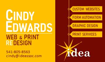 Cindy Edwards for IDEA